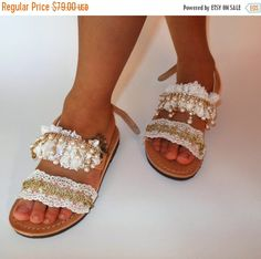 NEW YEAR SALE Bridesmaid wedding bridal Kids sandals, genuine leather sandals for girls, children lace rhinestones sandals, kids sandals for by ENOTIA on Etsy