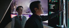 Noah Taylor and Chin Han in Skyscraper Noah Taylor, Team Leader, Full Movies Download, Hd Streaming, Dwayne Johnson, Upcoming Movies, Skyscraper, Tv, Poster