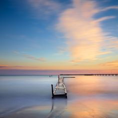Busselton Jetty, Western Australia - the longest wooden jetty in the southern hemisphere, stretching almost 2km out to sea.