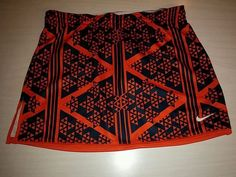Nike Syracuse blue/orange lacrosse skirt women's medium DRI-FIT NCAA #Nike #SkirtsSkortsDresses