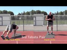 Fit In 15 Tabata #2 Bodyweight 15 Minute Tabata Bootcamp