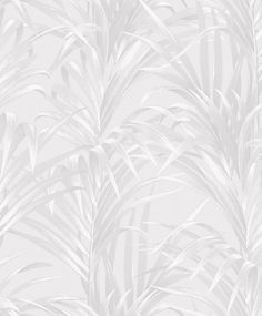 Bamboo by Casadeco - White and Silver - Wallpaper : Wallpaper Direct Wallpaper Direct, Home Wallpaper, Screen Wallpaper, Wallpaper Tumblrs, White And Silver Wallpaper, Bamboo Leaves, Ios Wallpapers, Photo Wall Collage, Pattern Wallpaper