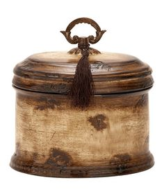 Take a look at this Ceramic Box by UMA Enterprises on #zulily today!