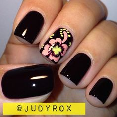 Want to know how to do gel nails at home? Learn the fundamentals with our DIY tutorial that will guide you step by step to professional salon quality nails. Funky Nail Art, Crazy Nail Art, Funky Nails, Cute Nails, My Nails, Fruit Nail Designs, Cute Nail Designs, Pretty Nail Colors, Pretty Nails