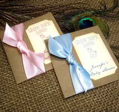 Elegant Baby Shower   Personalized  Favors  Wildflower by Pedoozle