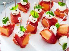 Unser beliebtes Rezept für Schinken-Melonen-Spieße und mehr als 55.000 weitere kostenlose Rezepte auf LECKER.de.
