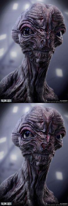 Falling Skies- Alien Design v4 by Luca Nemolato