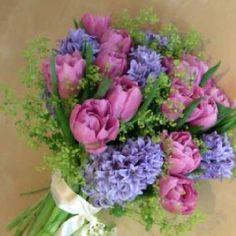 hyacinth bouquet, but with no frothy green stuff