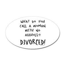 Divorce! Hahahaha