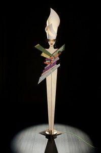 UPSET DESIGN!, collezione di lampade da tavolo, da terra e a parete che Lucifero Illuminazione ha creato per reinventare il concetto di illuminazione di interni