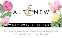 Hi there and happy Thursday. I'm so excited to be here with you today as part of the Altenew May…