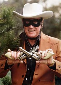 """Actor Cpl Clayton Moore US Army Air Force (Served 1943-1945) Short Bio: Best remembered as """"The Lone Ranger"""", Moore served in the US Army Air Forces during World War II and made training films (Target--Invisible, etc.) with the First Motion Picture Unit."""