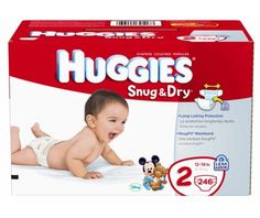 Huggies Snug & Dry Diapers, Size 2, 246-Count - http://www.intomars.com/huggies-snug-dry-size-2-diapers.html