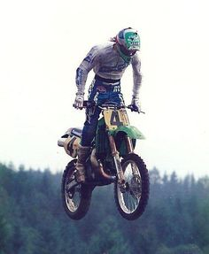 Ron Lechien on the Big KX500