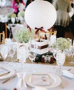 centre-table-mariage-vintage-montgolfière-lanterne-papier