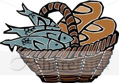 Then taking the five loaves and the two fish, and looking up to heaven, he said the blessing over them, broke them, and gave them to the disciples to set before the crowd. They all ate and were satisfied. And when the leftover fragments were picked up, they filled twelve wicker baskets. - Lk 9:16-17
