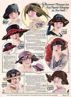 kittyinva: Kittyinva: 1922 hats from 1920′s Fashion Archives,...   The Flapper Girl   Bloglovin'