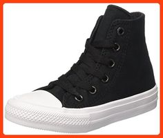 b0634a976b559 Converse Chuck Taylor All Star II Hi Black Textile 1.5 M US Little Kid Kids  Sneakers