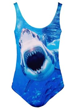 Take a swim with the sharks at NYLONshop: http://shop.nylonmag.com/collections/whats-new/products/shark-swimsuit