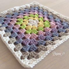 Granny Squares by Dajana Granny Squares, Blanket, Crochet, Ganchillo, Blankets, Cover, Crocheting, Comforters, Knits