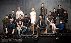 So many lovely men in one photo. Bonus: Lovely women too!