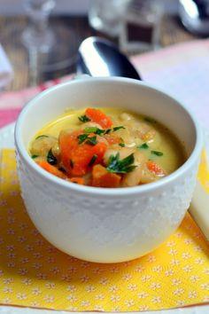 Zöldséges-fűszeres bableves recept