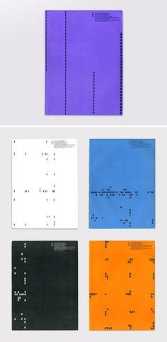 1958 covers of Typographische Monatsblätter / Yves Zimmermann