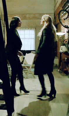 Emma intervening in Regina's crazy plan to just go and hurt herself so that it would hurt the Evil Queen.  Was it smart, yes.  Heroic, yes.  Good that some that cares about her intervened, worlds of yes!