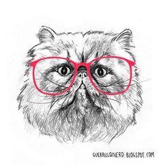 hipster cat - Pesquisa Google