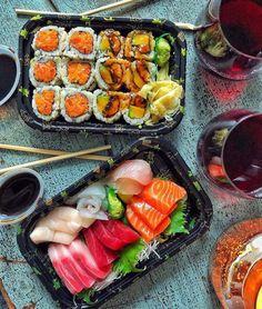 Bento Recipes, Healthy Recipes, Sleepover Food, Food Porn, Sushi Love, Snacks Saludables, Aesthetic Food, Asian Recipes, Love Food
