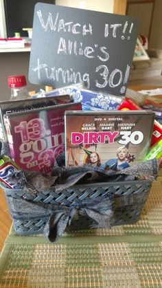 30 Year Old Birthday Gift Basket Idea All Movies That Have In