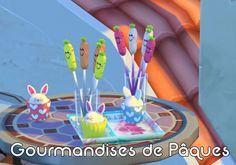 Sims Artists: Easter treats • Sims 4 Downloads  Check more at http://sims4downloads.net/sims-artists-easter-treats/