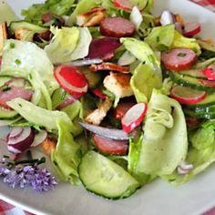 vegyes saláta receptek | NOSALTY Ketogenic Recipes, Diet Recipes, Vegan Recipes, Keto Results, Winter Food, Keto Dinner, Cobb Salad, Potato Salad, Cucumber
