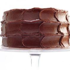 Chocolate-Caramel Cake with Sea Salt Recipe