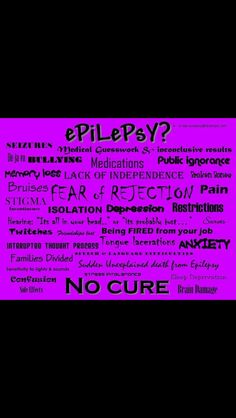 November: Epilepsy Awareness Month