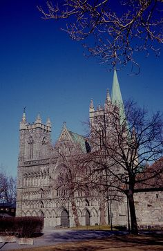 #Nidaros #cathedral, #Trondheim, Norway