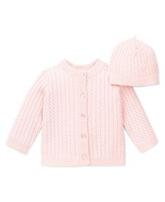 LOSORN ZPY Baby Girls Sweater Dress Knitted Cardigan Cotton Button Sweater Spring Autumn
