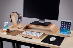 Durable /& Lightweight Handmade Natural Wood Wrist Rest Pad Pain Relief SAMDI Keyboard Wrist Rest Pad Maple