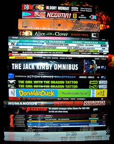 Check out FIVE PHOTOS for 5 WEEKS of Comic Book Hardcover, Trade Paperback and Manga Goodness!