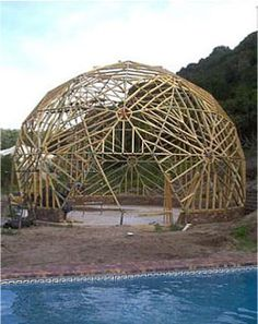 40ft Dome Framing completed