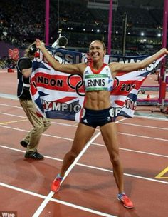 Jess Ennis, Jessica Ennis Hill, Elizabeth Berkley, Athletic Events, Sports Training, Track And Field, Sport Girl, Female Athletes, American Women