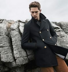 a man with this coat, is ALWAYS a men with style