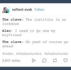 Everyone makes place for Malec