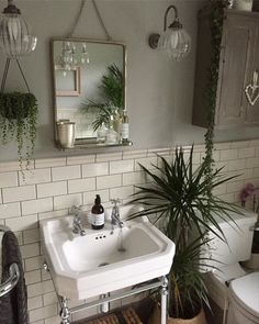Bathroom Decor plants Have you used our tiles in your home Share your creation with us today to get featured with hundreds of stunning customer photos. Diy Bathroom, Small Bathroom, Minimalist Bathroom, Bathroom Decor, Interior, Bathrooms Remodel, Beautiful Bathrooms, Tile Bathroom, Home Decor