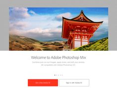 Adobe Photoshop Mix - Getting started Mobile Design Patterns, Ipad App, User Interface, Adobe Photoshop, Your Photos, How To Apply, Image