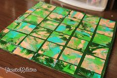 PAP azulejo de papel para cenário - Day By Day