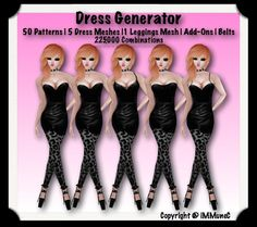 225,000 Piece Dress Generator With Resell Rights created by iMMuneC @ IMVU (http://lnk.al/Kz4).