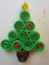 Resultado de imagen para arbolito de navidad de foami