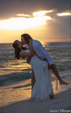 My favorite! Beach wedding