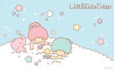 Little twin stars wallpaper Star Wallpaper, Pattern Wallpaper, Little Twin Stars, Little Star, Sanrio, Star Illustration, Star Cloud, My Melody, Kawaii Cute